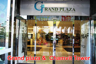 Grand plaza &  Chamvit Tower