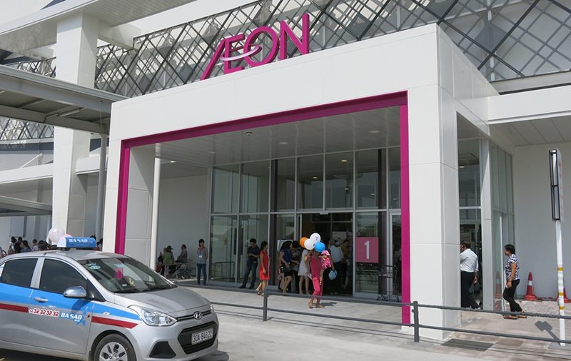 Japanese retail giant Aeon Mall to choose Nabco automatic doors for the 3rd store in Vietnam