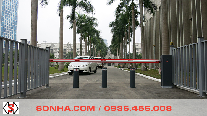 Installation of BFT Security Entrance System at Russia Embassy in Hanoi