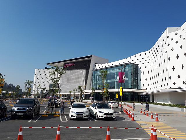 Cửa tự động NABCO Nhật Bản tại TTTM AEON Hà Đông