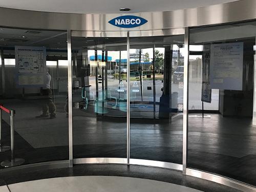 Cửa trượt cong tự động NABCO (Nhật Bản)